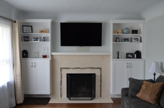 Fireplace/Entertainment Cabinetry